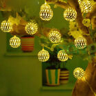 Battery Powerd 10/20/30/40/80 LED Party Wedding String Fairy Lights Xmas 01