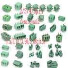 2/3/4/5P PCB 3.5/3.81/3.96/5.08MM Pitch Universal Screw Terminal Block Connector