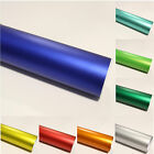 10,53€/m² Chrom Iced Car Wrapping Foil Autofolie Matt Ice Blasenfrei Deko Foil