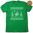 UGLY CHRSITMAS SWEATER T-SHIRT Deck the Halls w this FUNNY & FESTIVE X-MAS TEE!