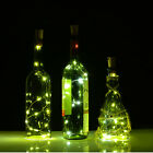 Green Cork Shaped LED Night Light Starry Light Wine Bottle Lamp for Party 30inch