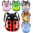 Kids Animal Backpack Hard Shell Boy Girl School Overnight Weekend Holiday Travel