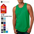 premium tanks - Next Level Men's Premium 4.3 oz Athletic Jersey Tank Top N-3633