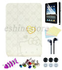 New Cute Hello Kitty Smart Cover Magnetic Folio PU Leather Case For iPad Air 1