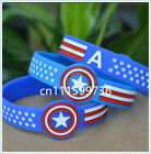 Captain America Silicone Wristband Bracelet for Fans
