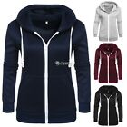 Women's Hoodie Sweatshirt Sweater Casual Hooded Top Coat Pullover DZ88