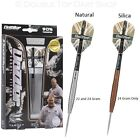 Darryl Fitton 90% Tungsten Steel Tip Darts by Target - Silver or Silica Finish