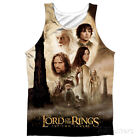 Tank Top: The Lord Of The Rings: The Two Towers- Towers Post... Tank Top - White