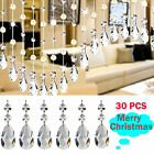 Christmas Drops Ornaments Festival Party Xmas Tree Hanging Decorations 30PCS