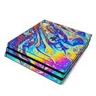 NEW Vinyl Skin for Console PS4 Slim Pro Soap Swirl Sticker Decal Cover