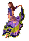 We3 Belly Dance Gypsy Tribal Fusion Faire 25 Yard Skirt IN STOCK SALE