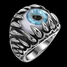 Size8/9/10/11 Fashion Jewelry Stainless Steel Devil Eye Man's Rings