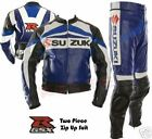 Suzuki All Pure Motorbike Racing Leather Suit Racing Motorcycle Cowhide Suit