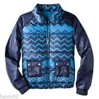 MISSONI FOR TARGET JACKET PUFFER BLUE SIZE XS EXTRA SMALL, M MEDIUM- NEW