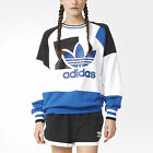 ADIDAS Originals Womens Running Baggy Archive Trefoil Logo Sweater UK 10 12 S M