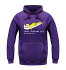 Men's cotton long sleeve Fitness leisure loose hooded add wool fleece clothes