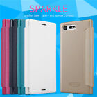 [for Sony Xperia X Compact] Nillkin Sparkle PU Leather Smart Case Flip Cover