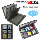 Game Card Case Holder Cartridge Box 28 In 1 for New Nintendo DS 3DS XL LL DSi