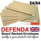 "C4 A4 SIZE 12.75""x9"" 324mm x 229mm STRONG BOARD BACKED ENVELOPES Hard Card Back"
