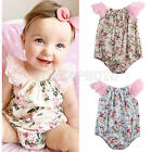 Newborn Infant Kids Baby Girl Princess Romper Bodysuit New Dress Clothes Outfit