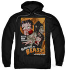 Hoodie: Betty Boop - Boyfriend The Beast Apparel Pullover Hoodie - Black $42.99 USD