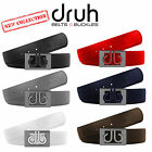 NEW COLLECTION DRUH PREMIUM LEATHER 3D GOLF BELT 2017
