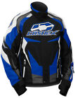 CastleX Mens Blue/Black/White Charge G3 Snowmobile Jacket Snow Snocross