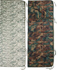 """Camo Poncho Liner with Zipper 62"""" x 82"""" Military Blanket Cover Army Woobie"""