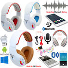 Foldable Stereo Bluetooth 4.2 Headset Wireless Headphones Mic For iPhone Samsung