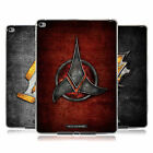 OFFICIAL STAR TREK KLINGON BADGES SOFT GEL CASE FOR APPLE SAMSUNG TABLETS
