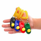 1-3x Dog Pet Puppy Cat Training Clicker Click Button Trainer Obedience Aid Wrist