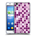 HEAD CASE DESIGNS MOSAIC TILES SOFT GEL CASE FOR HUAWEI Y6 HONOR 4A