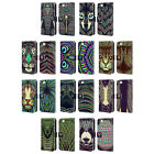 HEAD CASE DESIGNS AZTEC ANIMAL FACES LEATHER BOOK CASE FOR APPLE iPHONE 5 5S SE