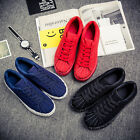 Men's Casual fashion Style Shoes Rubber soled suede shell head shoes