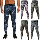 Men's Sports Apparel Skin Tights Compression Base Under Layer Workout Long Pants