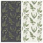PATCHWORK/ CRAFT FABRIC FAT QTR LEWIS AND IRENE - THE BOTANIST - FERNS & LEAVES