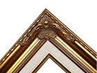 Gold Ornate Linen Liner Wedding Studio Portrait Picture Frame B5GL