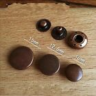 5pcs Leather Craft Red Copper Color 633 Snap Button 10mm/12.5mm/15mm