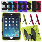 """Shockproof Stand Rubber Case Cover For iPad Mini 1/2/3/4 /Air 1 2 /Pro 9.7"""" 5th"""