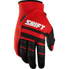 11458-003 Shift Assault Gloves Mens Red Motorcycle Race MX ATV Offroad
