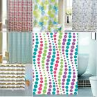 Shower Curtain Printed Waterproof Fabric Polyester Bath Decor Curtain 72x72inch