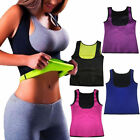 Lady Thermo Sweat Neoprene Body Shaper Slimming Waist Trainer Cincher Yoga Vest