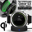 Wireless Charging Dock Cradle Charger Kit for Samsung Gear S3 Classic / Frontier