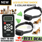 800 Yards LCD Electric Remote Shock Pet Dog Training Collar Anti Bark 1-2 Dogs