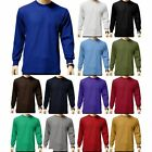 waffle top - Men's Heavy Weight Waffle Thermal Shirt Long Sleeve Top Underwear Colors