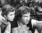 CARRIE FISHER 23 WITH HARRISON FORD (PRINCESS LEILA STAR WARS) CAST PHOTO PRINT