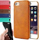 For iPhone 7 High Quality Slim Fit Crocodile Luxury PU Leather Case Cover 6,5S,5