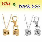 Pet Necklace - Stainless Pendant - Cat Silver - Jewerly Chain -Dog Lover Gift 1P