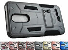 for ZTE Grand X4 Z956 Shock Rugged Stand Hybrid Case Phone Cover + Prytool