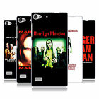 OFFICIAL MARILYN MANSON KEY ART HARD BACK CASE FOR LENOVO PHONES